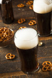 Refreshing Dark Stout Beer Stock Photography