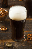 Refreshing Dark Stout Beer Stock Image