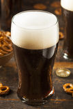 Refreshing Dark Stout Beer Stock Photography