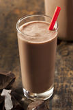 Refreshing Delicious Chocolate Milk Royalty Free Stock Photography
