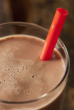 Refreshing Delicious Chocolate Milk Stock Photography
