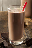 Refreshing Delicious Chocolate Milk Royalty Free Stock Image