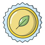 Refreshing drink cap icon, cartoon style Royalty Free Stock Photography