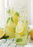 Refreshing drink. Lemonade. Refreshing drink on the table Stock Image