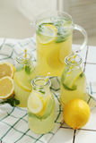 Refreshing drink. Lemonade. Refreshing drink on the table Stock Photography