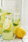 Refreshing drink. Lemonade. Refreshing drink on the table Royalty Free Stock Photo