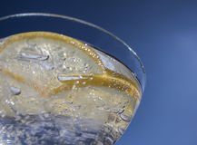 Refreshing drink Sparkling drink Royalty Free Stock Image