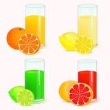 Refreshing drinks Stock Photos