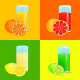 Refreshing drinks Royalty Free Stock Image