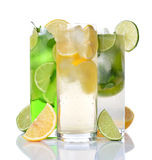 Refreshing drinks Royalty Free Stock Photo