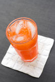 Refreshing fruit punch Stock Photo