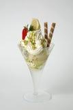Refreshing glass of ice cream Stock Images