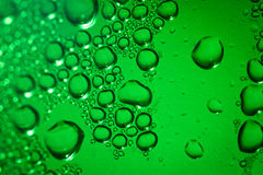 Refreshing green watery background Royalty Free Stock Photos