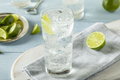 Refreshing Hard Sparkling Water Stock Photography