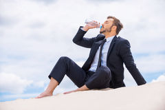 Free Refreshing His Mind. Stock Photography - 41875642