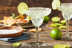 Refreshing Homemade Classic Margarita Royalty Free Stock Photography