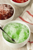 Refreshing Homemade Shaved Ice Royalty Free Stock Photo