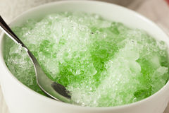 Refreshing Homemade Shaved Ice Royalty Free Stock Photography