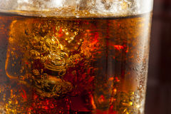 Refreshing Ice Cold Soda Pop Royalty Free Stock Image