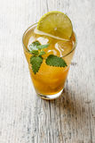 Refreshing ice tea Stock Photo