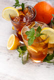 Refreshing iced tea Royalty Free Stock Photography