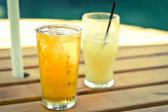 Refreshing. Image of a cool refreshing beverage on a summers day royalty free stock photography