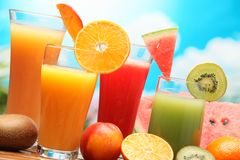 Refreshing juice Stock Photography