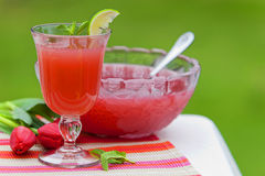 Refreshing Juice Cocktail Drink Stock Image