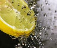 Refreshing lemon Stock Image