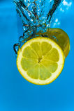 Refreshing Lemon Royalty Free Stock Images