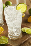 Refreshing Lemon and Lime Soda Stock Photography