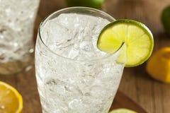 Refreshing Lemon and Lime Soda Stock Images