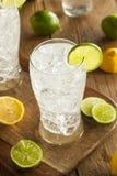 Refreshing Lemon and Lime Soda Royalty Free Stock Image