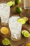 Refreshing Lemon and Lime Soda Stock Photos