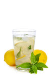 Refreshing lemonade Royalty Free Stock Photos