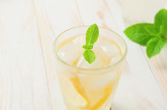 Refreshing lemonade Royalty Free Stock Photo