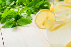 Refreshing lemonade Royalty Free Stock Image