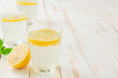 Refreshing lemonade Stock Image