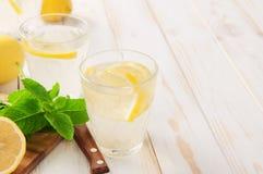 Refreshing lemonade Royalty Free Stock Images