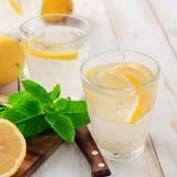 Refreshing lemonade Stock Photo