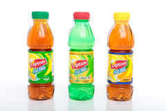 Refreshing Lipton Ice Teas Royalty Free Stock Images