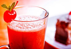 Refreshing mixed drink Stock Image