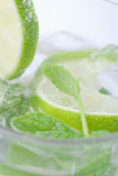 Refreshing mojito Stock Photos