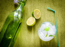 Refreshing mojito cocktail Royalty Free Stock Photography