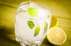 Refreshing mojito cocktail Royalty Free Stock Photo