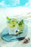 Refreshing mojito cocktail Royalty Free Stock Image