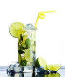 Refreshing  mojito Royalty Free Stock Photography