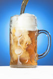 A refreshing Oktoberfest Beer Royalty Free Stock Image