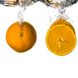 Refreshing orange Royalty Free Stock Photography