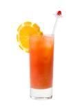 Refreshing orange cocktail Stock Photo